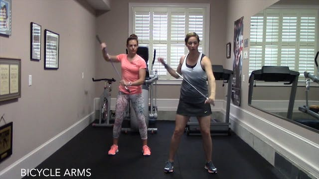 2-minute Bicycle Arms