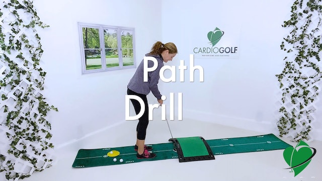 10:50 minute Putting Drills Using the CardioGolf Slope