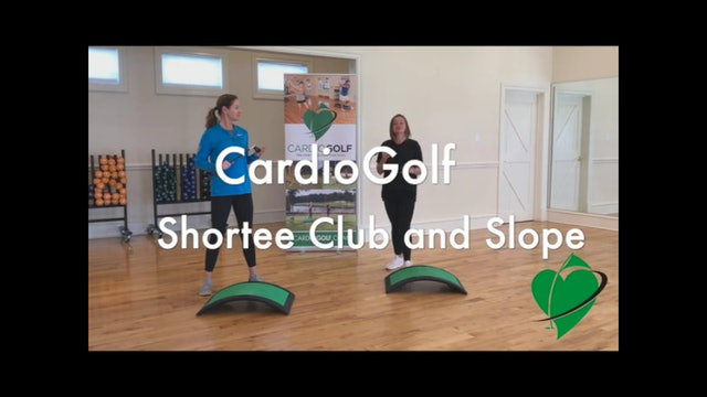 14-minute CardioGolf Slope Workout Featuring Britni Gielow