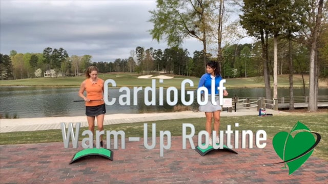 3-minute CardioGolf™ Pre-Round Warm-Up Routine