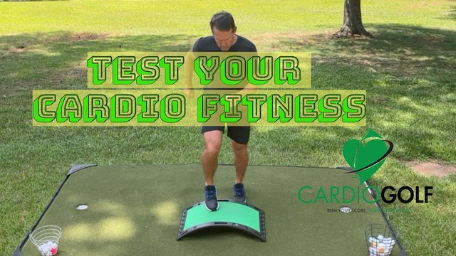 4:31-min Testing Your Cardio Fitness with the CardioGolf Slope