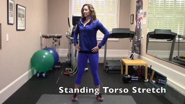 1-minute Standing Torso Stretch