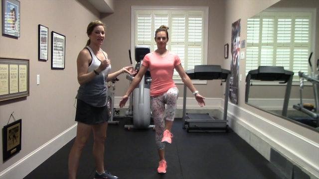 One Leg Standing Balance Test