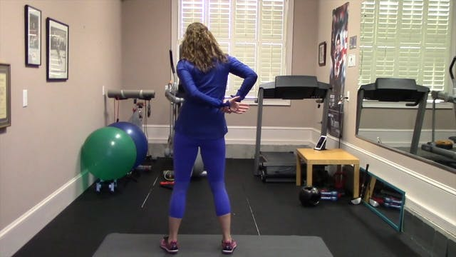 1-minute Standing Shoulder and Arm St...