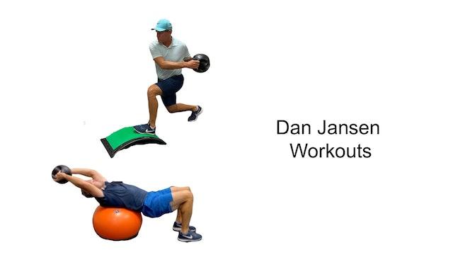 Dan Jansen Workouts