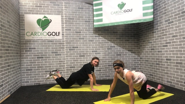 12-minute Golf-Fitness Workout For Juniors Featuring Britni Gielow