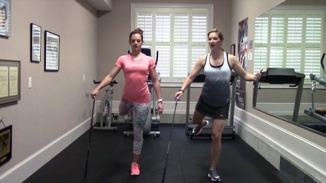 2-minute Hip Swings