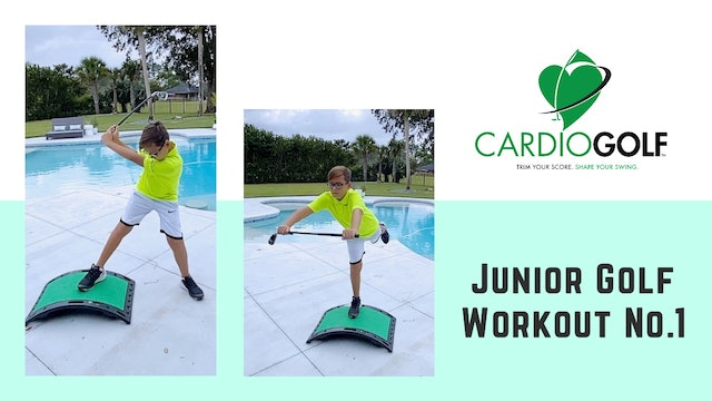 3:50 minute Junior Golf Workout (Quick and Fast)