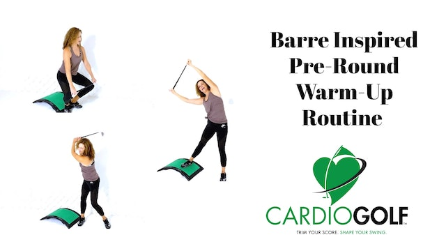 10-minute Barre Inspired Pre-Round Warm-Up Routine