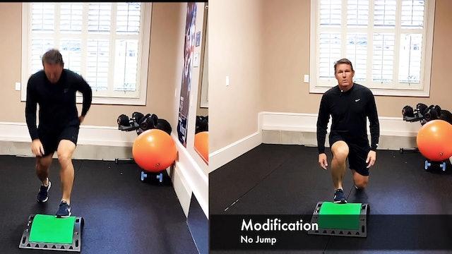15-minute Dan Jansen Total Body Circuit on CardioGolf Slope