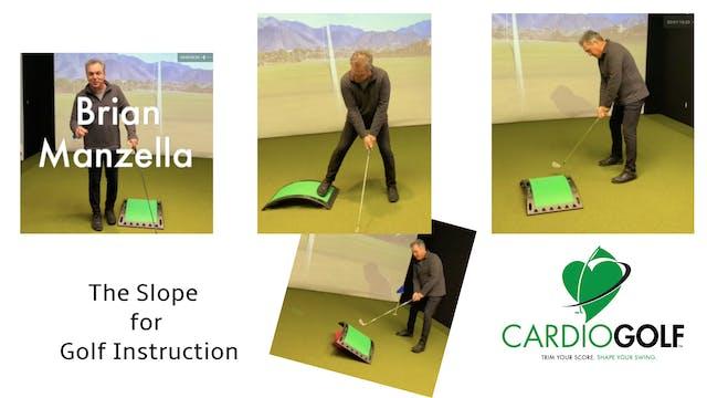 The CardioGolf™ Slope for Golf Instru...