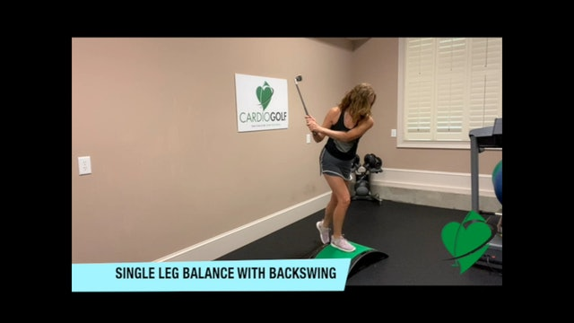 20-minute Groove Your Swing- For a Smooth Balanced Swing  NO MUSIC