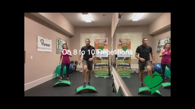 4-minute Mini Slope Workout by Dan Jansen