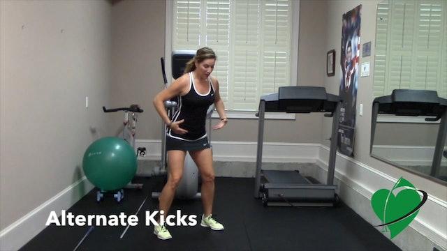 1-minute Cardio Kick