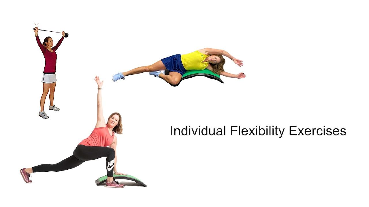 Individual Flexibility Exercises