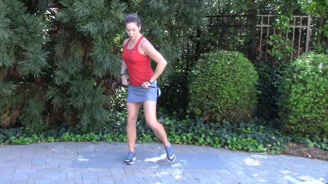 1-minute Hip Thrusts on a Ball