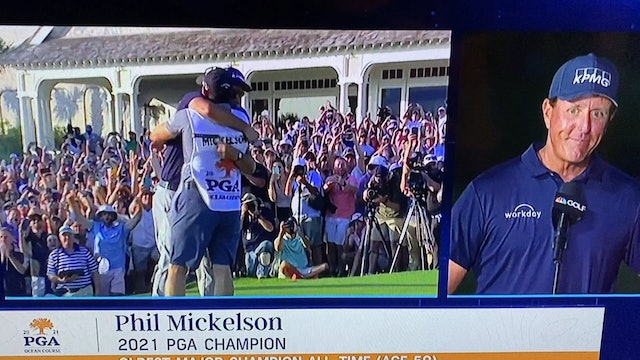 Phil Mickelson-What is Takes to Be a Major Championship Winner Over 50!
