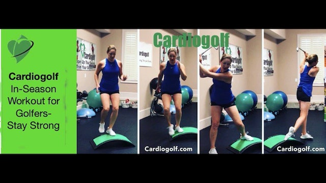 6:48 min Stay Strong and Swing Freely Workout