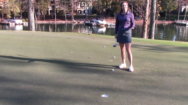 2-minute  Putting-Controlling Distance