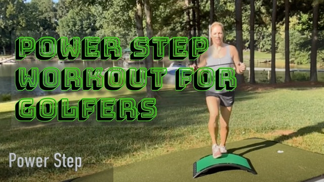 10-minute Power Step Workout for Endurance