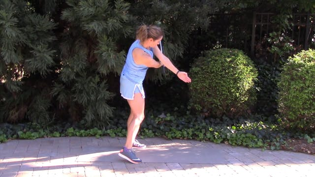 1-minute Back Arm Under Front Arm Drill