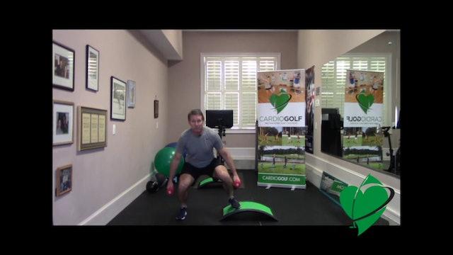 8-minute Lower Body HIIT Workout by Dan Jansen