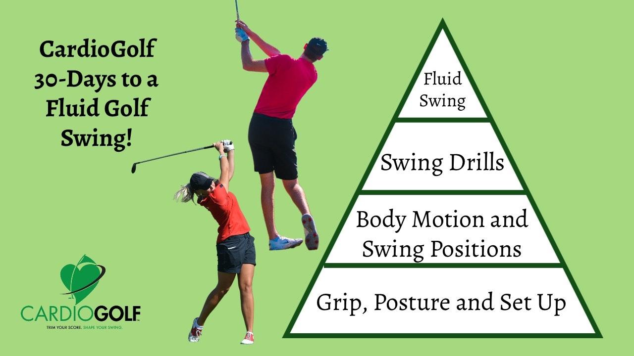 CardioGolf™ 30 Days to a Fluid Golf Swing!
