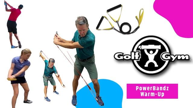 5-min Pre-Round Warm Up with GolfGym PowerBandz