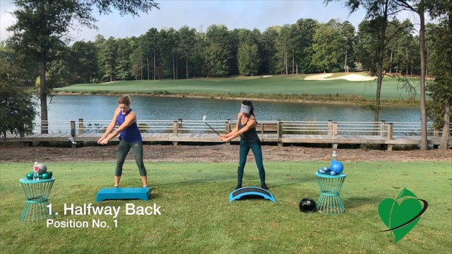 2:51 min Learn the CardioGolf Swing Positions