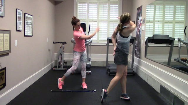 2-minute One Arm Only Swings without ...