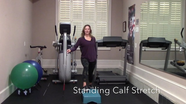 4-minute Total Body Post Round Stretch