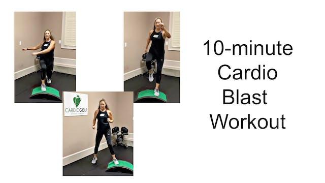 10-minute Cardio Blast Workout