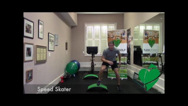 6-minute Endurance HIIT Workout by Dan Jansen