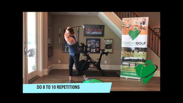 24-minute Groove Your Swing Workout