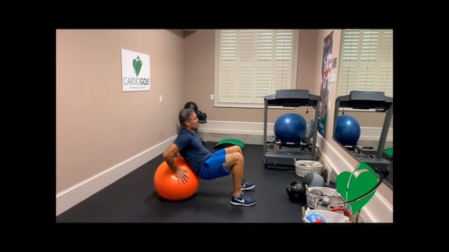 20-minute Exercise Ball Workout by Da...