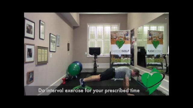 Core HIIT Workout by Dan Jansen