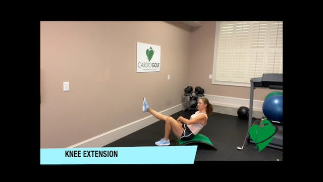 25-minute Golfer's Knee Workout