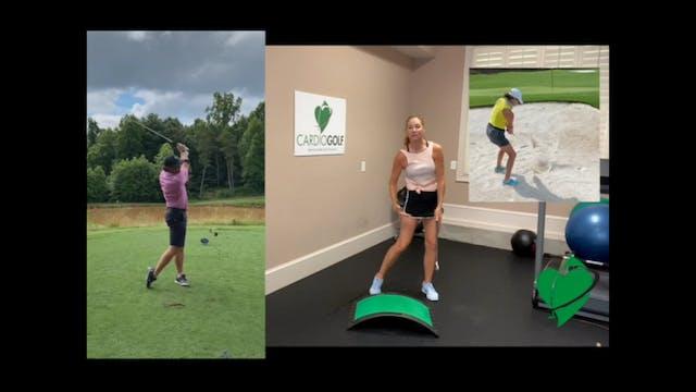 25-minute Golfer's Knee Workout NO MUSIC
