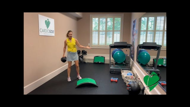 25-minute Total Body and Swing Workout