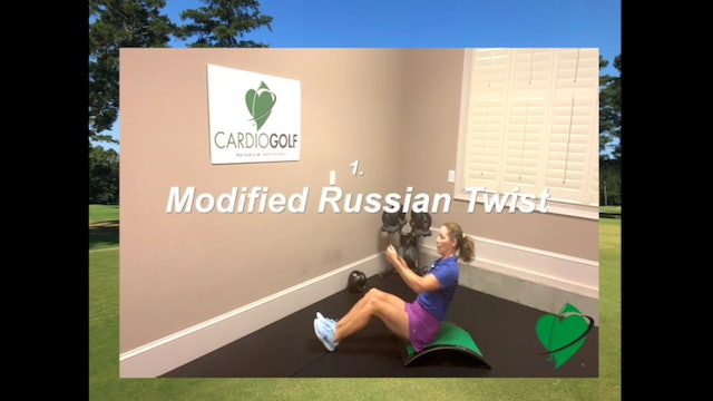 12-minute Explosive Power Workout for Golfers