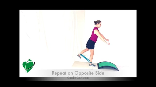 20-minute Resistance Band Workout with Slope