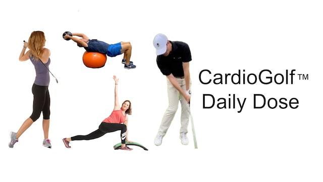 CardioGolf™ Daily Dose