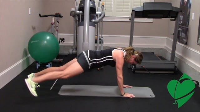 11-minute Cardio and Core Workout