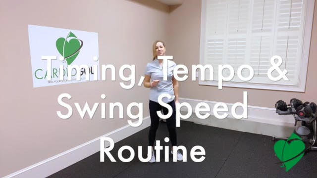 12:25-minute Timing, Tempo and Clubhe...