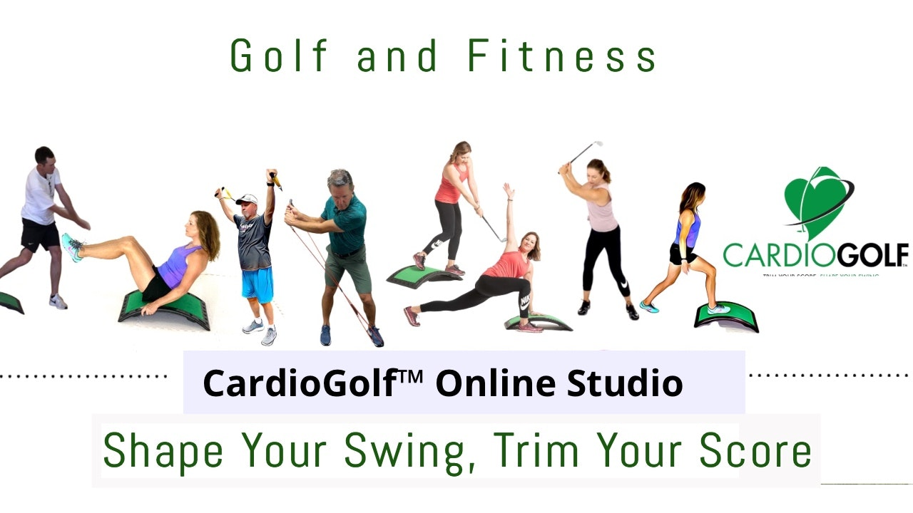 CardioGolf™ Online Studio