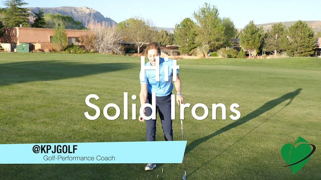 1-min Drill to Hit Solid Irons off a ...