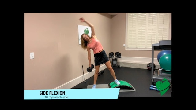 36-minute Total Body Strength Workout with Weights