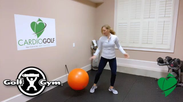2:22-minute Balance Ball Timing Drill