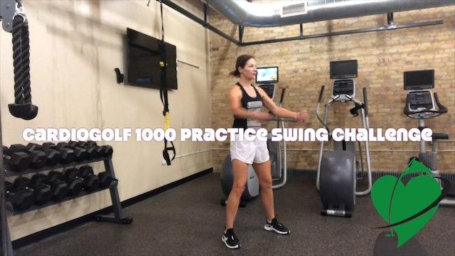 4-minute Practice Swing Challenge