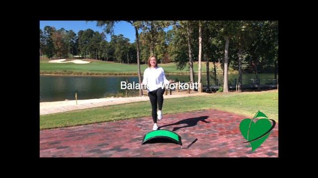 9-minute CardioGolf Balance Workout F...